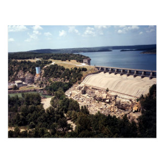Tenkiller Lake and Dam Postcard