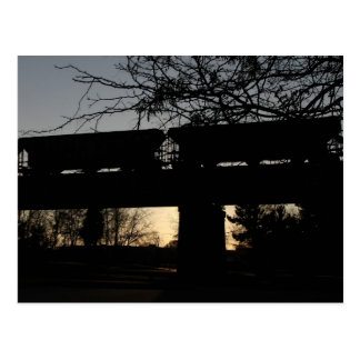 TennBridge Gondola Cars Postcard