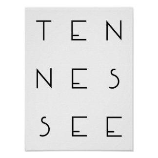 Tennesse Poster