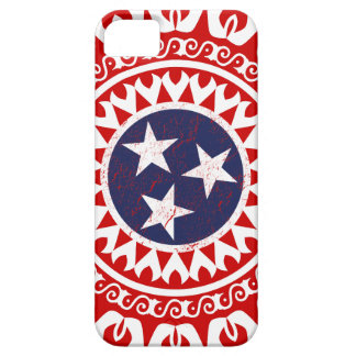 Tennesse State Flag Grunge Nashville Love Pattern Barely There iPhone 5 Case