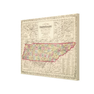 Tennessee 2 canvas print