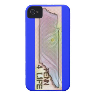"""Tennessee 4 Life"" State Map Pride Design iPhone 4 Case"