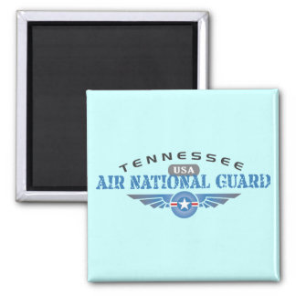 Tennessee Air National Guard Square Magnet