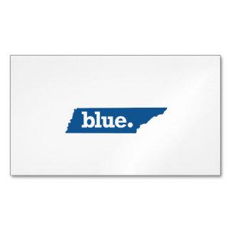 TENNESSEE BLUE STATE MAGNETIC BUSINESS CARDS