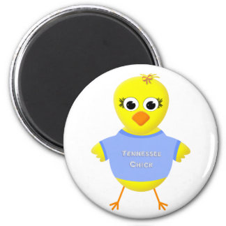 Tennessee Chick Cute Cartoon Chicken Magnet