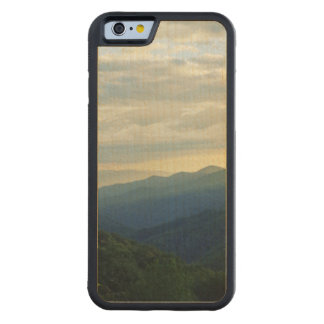 Tennessee Clouds Carved Maple iPhone 6 Bumper Case