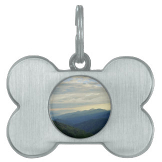 Tennessee Clouds Pet Name Tag