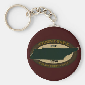 Tennessee Est. 1796 Key Ring