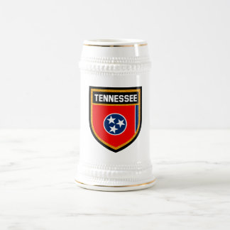 Tennessee Flag Beer Stein