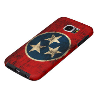 Tennessee Flag Grunge