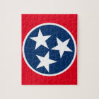 Tennessee Flag Jigsaw Puzzle