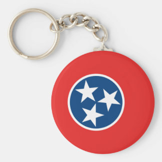 Tennessee Flag Key Ring