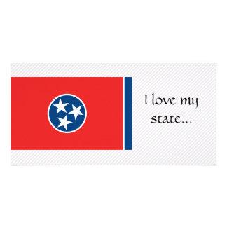 Tennessee Flag Custom Photo Card