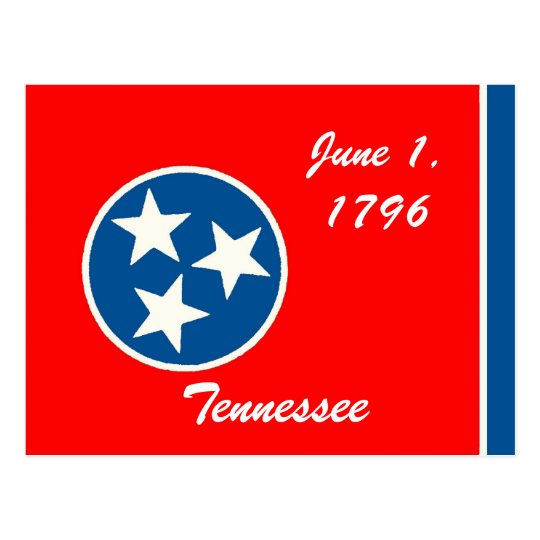 Tennessee Flag Postcard