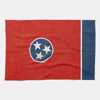 TENNESSEE FLAG TEA TOWEL