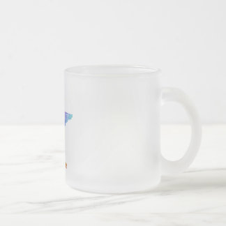 Tennessee Frosted Glass Coffee Mug