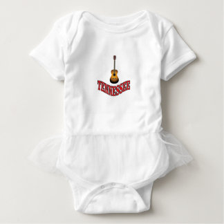 Tennessee Guitar Baby Bodysuit
