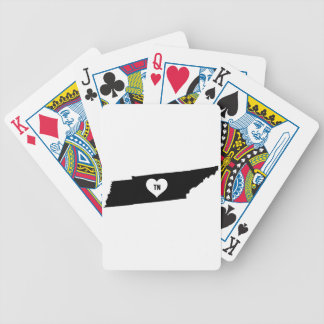 Tennessee Love Bicycle Playing Cards