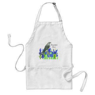 Tennessee Love Mockingbird Iris Standard Apron