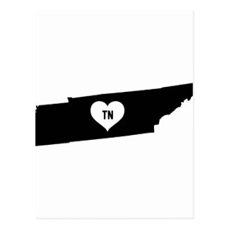 Tennessee Love Postcard
