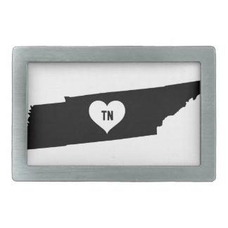 Tennessee Love Rectangular Belt Buckles