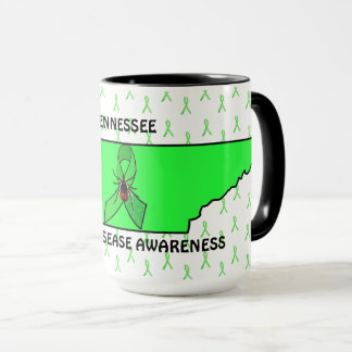 Tennessee Lyme Disease Awareness Coffee Mug