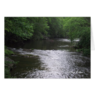 Tennessee mountain stream card