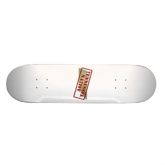 Tennessee Native Stamped on Map Skateboard Deck