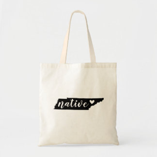 Tennessee Native State Tote Bag