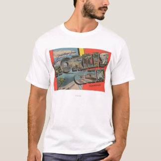 Tennessee - Norris Dam - Large Letter Scenes T-Shirt