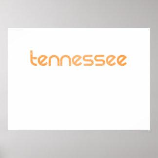 Tennessee Orange Poster