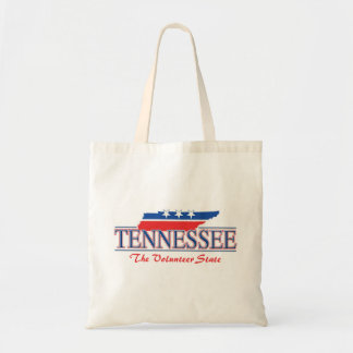 Tennessee Patriotic Budget Tote Bag