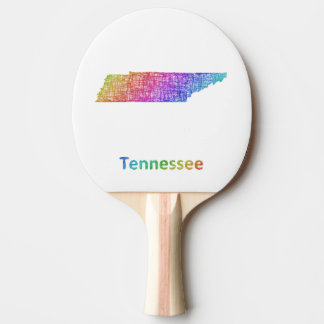 Tennessee Ping Pong Paddle
