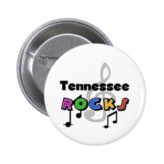 Tennessee Rocks 6 Cm Round Badge