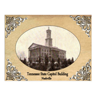 Tennessee State Capitol Building Old Postcard