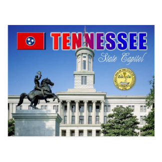 Tennessee State Capitol in Nashville Postcard