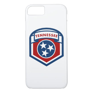 Tennessee State Flag Crest Shield Style iPhone 8/7 Case