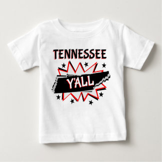 Tennessee State Pride Y'all Baby T-Shirt