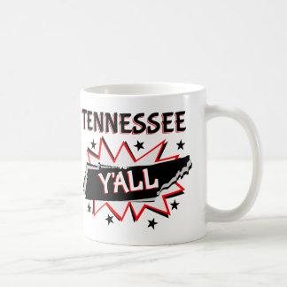Tennessee State Pride Y'all Coffee Mug