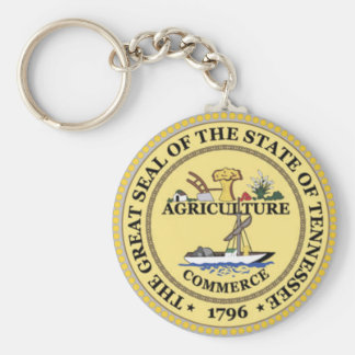 Tennessee State Seal Key Ring