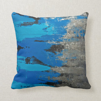 Tennessee Titans Inspired Blues Throw Pillow