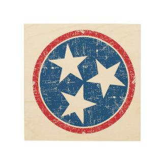 Tennessee Tri Star Wood Prints
