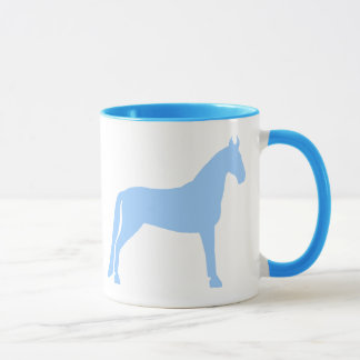 Tennessee Walking Horse (light blue) Mug