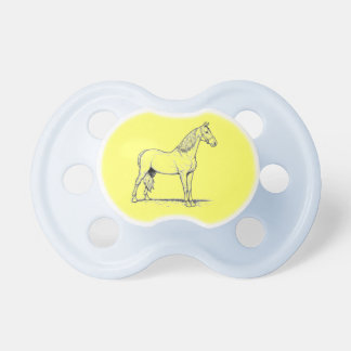 Tennessee Walking Horse - Standing Baby Pacifier