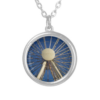 Tennessee Wheel Silver Plated Necklace
