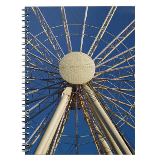 Tennessee Wheel Spiral Note Book