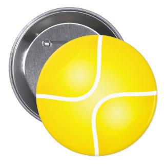 Tennis 7.5 Cm Round Badge
