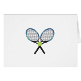 Tennis Anniversary Card