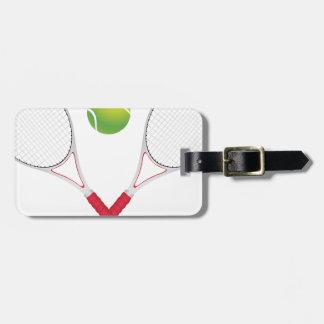 Tennis Ball and Racket2 Luggage Tag