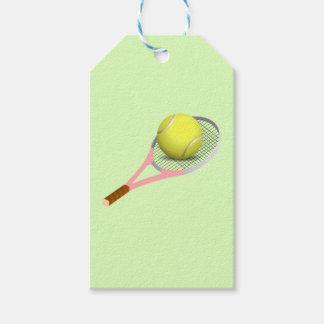 Tennis Ball and Racket Gift Tags